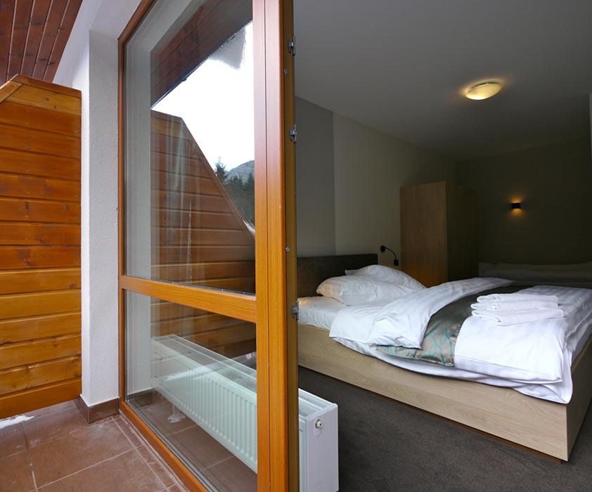 1-spálňový apartmán Jasná