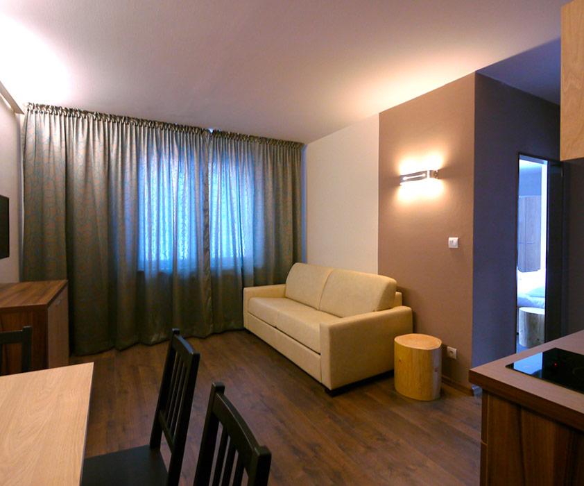 2-spálňový apartmán